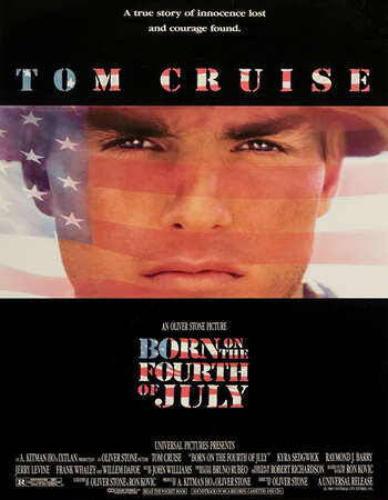 Born on the Fourth of July 1989 Hindi Dual Audio BRRip Full Movie 720p Download