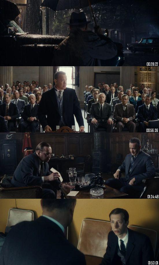 Bridge Of Spies 2015 BluRay 720p 480p Dual Audio Hindi English Full Movie Download