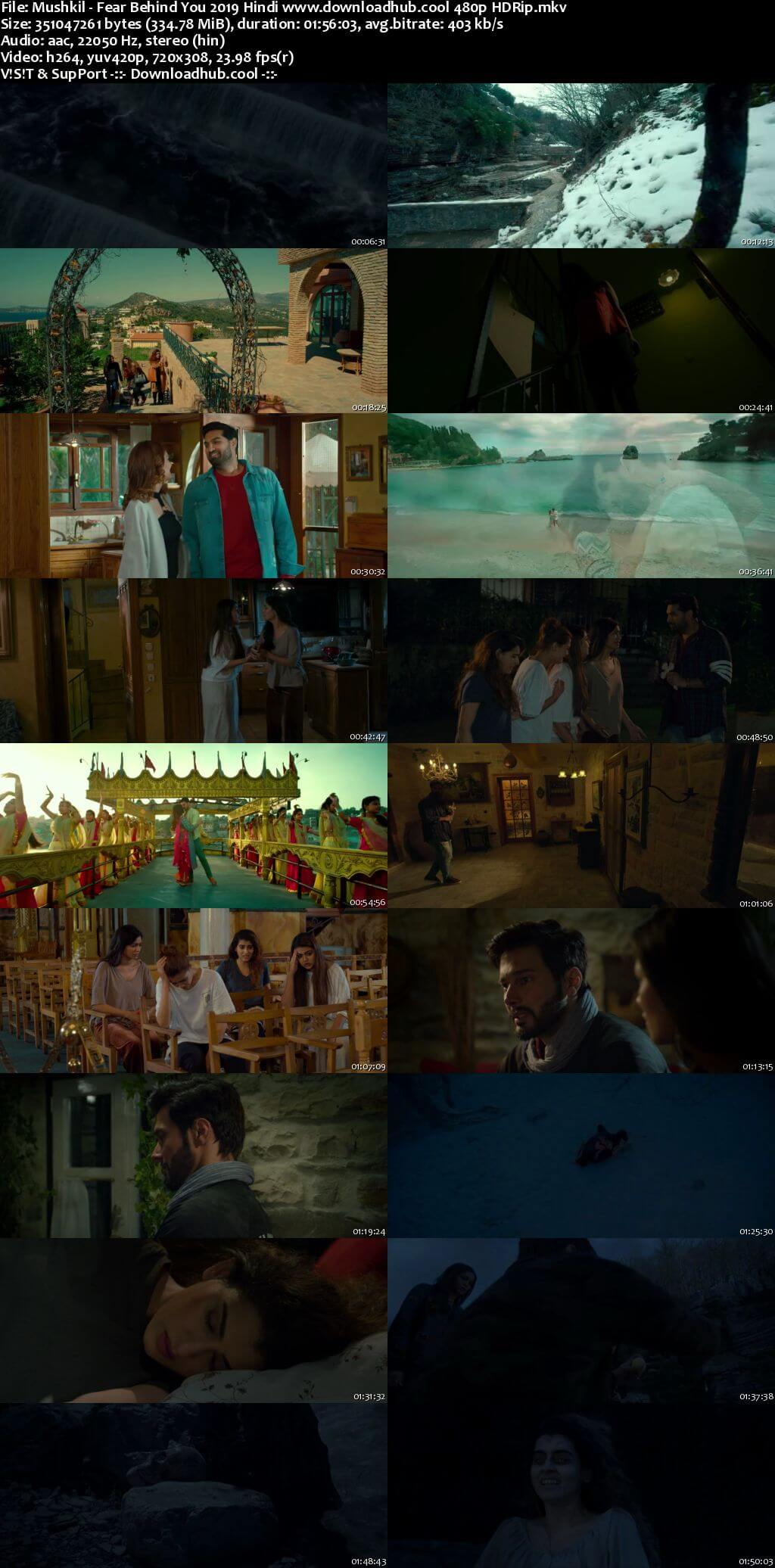 Mushkil Fear Behind You 2019 Hindi 300MB HDRip 480p