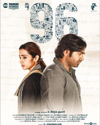 96 (2018) UNCUT Dual Audio Hindi Movie Download