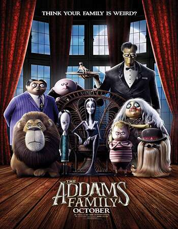 The Addams Family 2019 English 720p Web-DL 750MB ESubs