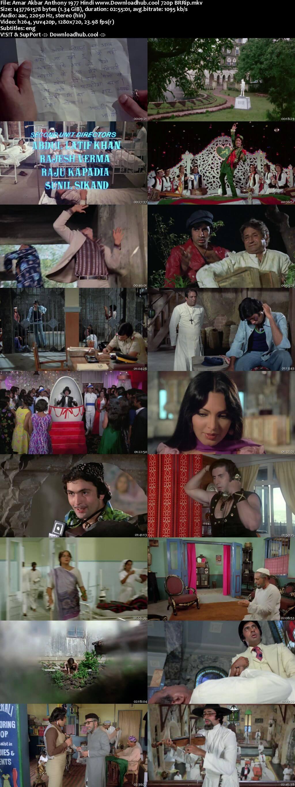 Amar Akbar Anthony 1977 Hindi 720p BluRay ESubs