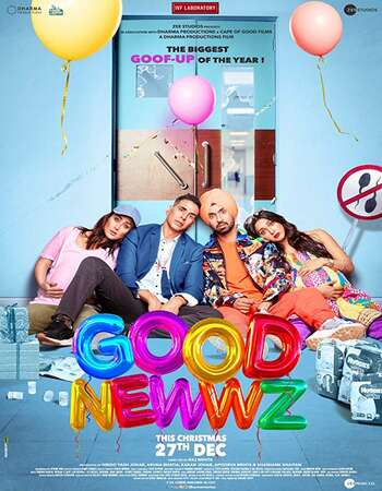 Good Newwz 2019 Full Hindi Movie 720p HDRip Download