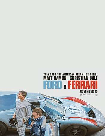 Ford v Ferrari 2019 English 400MB Web-DL 480p ESubs