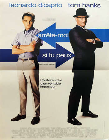 Catch Me If You Can 2002 Hindi Dual Audio BRRip Full Movie 720p Download