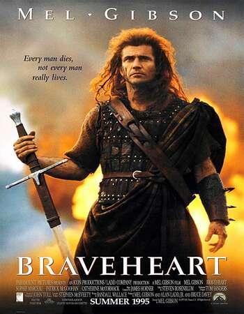 Braveheart 1995 Hindi Dual Audio BRRip Full Movie 720p Download