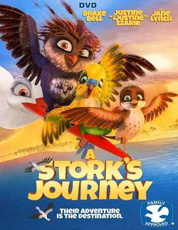 A Storks Journey 2017 Hindi Dual Audio BRRip Full Movie 720p Download