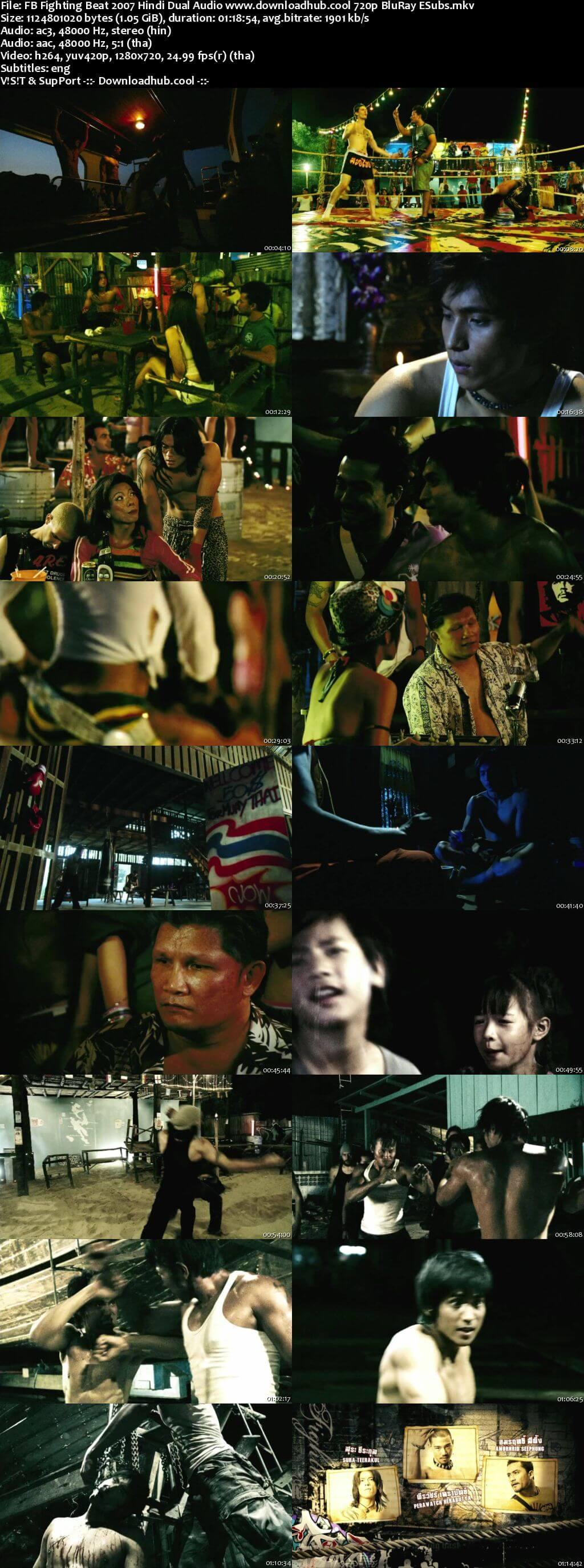 FB Fighting Beat 2007 Hindi Dual Audio 720p BluRay ESubs