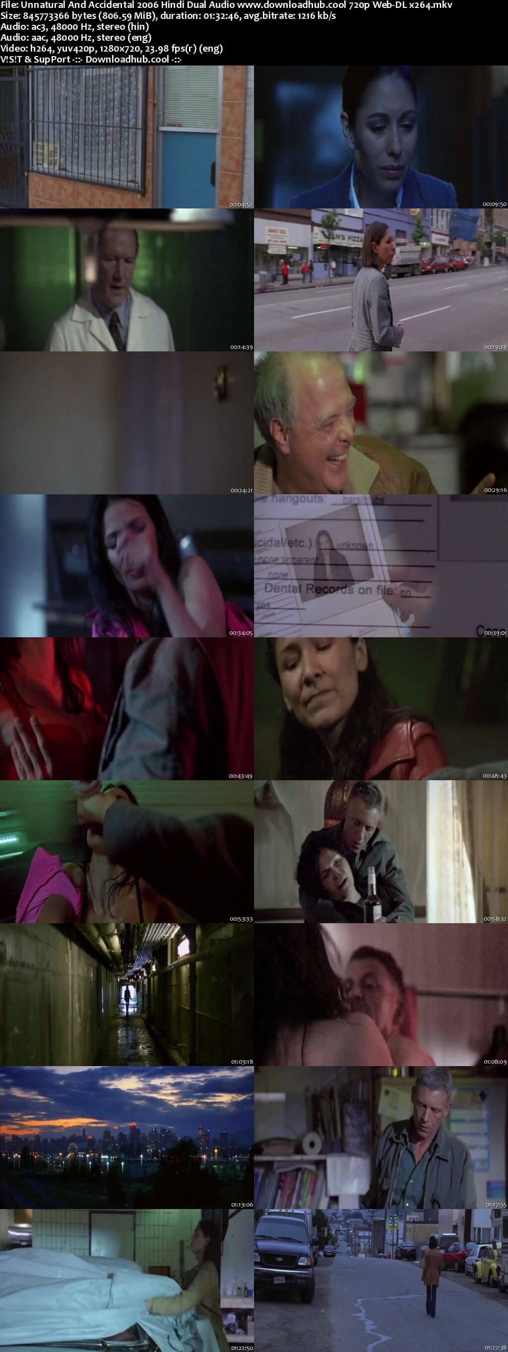 Unnatural And Accidental 2006 Hindi Dual Audio 720p Web-DL x264