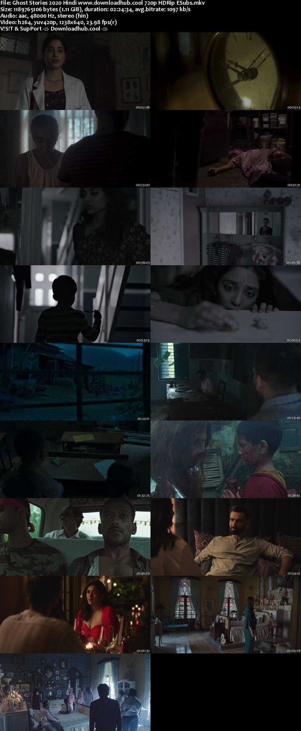 Ghost Stories 2020 Hindi 720p HDRip ESubs