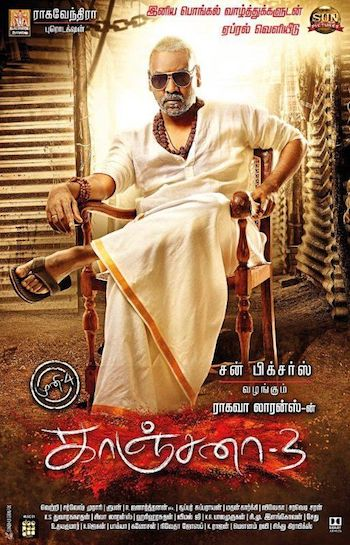 Kanchana 3 (2019) UNCUT Dual Audio Hindi 720p HDRip 1.3GB