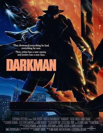 Darkman 1990 Hindi Dual Audio BRRip Full Movie 720p Download