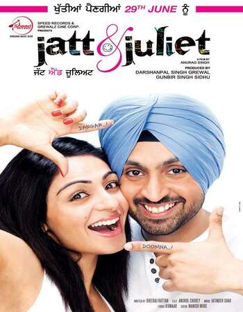 Jatt And Juliet 2012 UNCUT Hindi Dual Audio DVDRip Full Movie Download