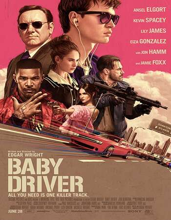 Baby Driver 2017 Hindi Dual Audio BRRip Full Movie 720p Download