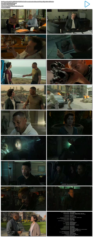 Gemini Man 2019 Hindi ORG Dual Audio 600MB BluRay 720p ESubs HEVC