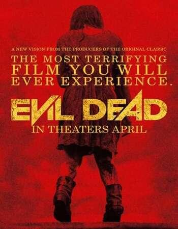 Evil Dead 2013 Hindi Dual Audio BRRip Full Movie 720p Download