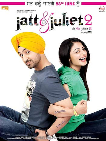 Jatt and Juliet 2 (2013) UNCUT Dual Audio Hindi 720p BluRay 1.1GB