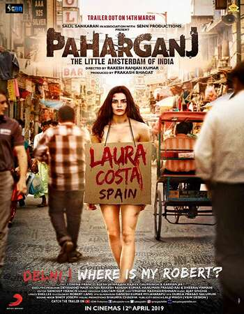 Paharganj 2019 Full Hindi Movie 720p HEVC HDRip Download