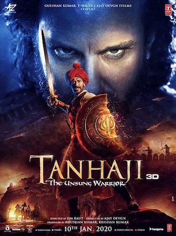 Tanhaji: The Unsung Warrior 2020 WEB-DL 1080p Full Hindi Movie Download