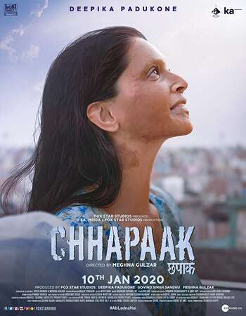 Chhapaak 2020 Full Hindi Movie 1080p HDRip Download