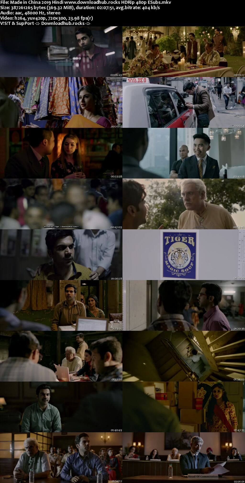 Made in China 2019 Hindi 350MB HDRip 480p ESubs Full Movie Download 1