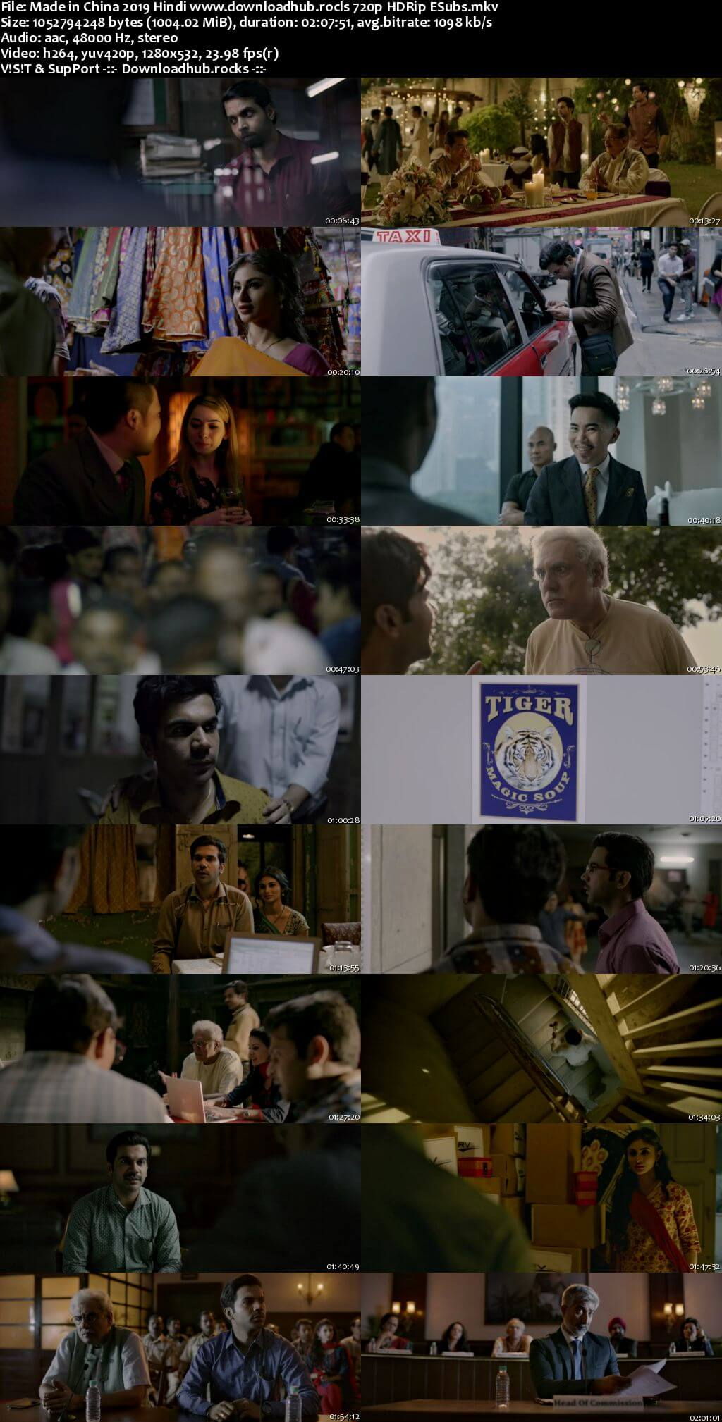 Made in China 2019 Hindi 720p HDRip ESubs