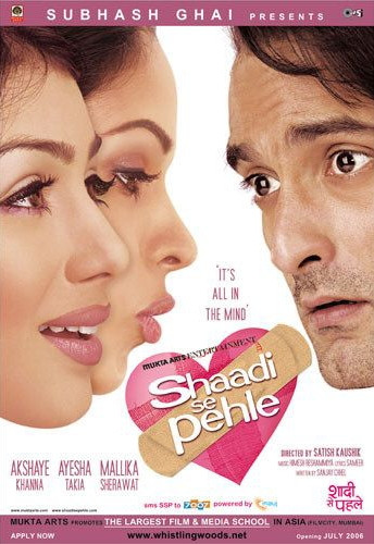 Shaadi Se Pehle 2006 Hindi 720p WEB-DL 900mb