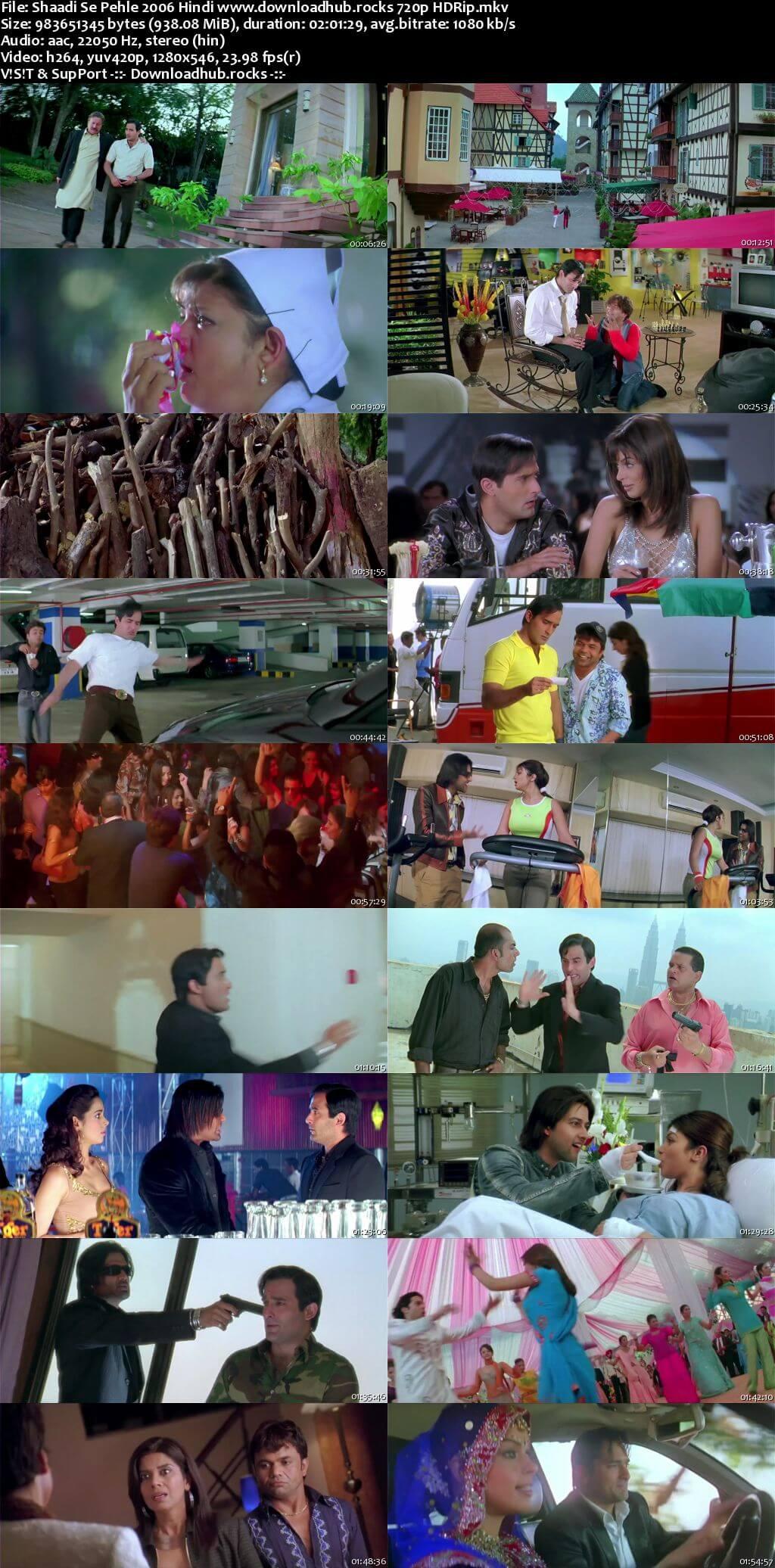 Shaadi Se Pehle 2006 Hindi 720p HDRip x264
