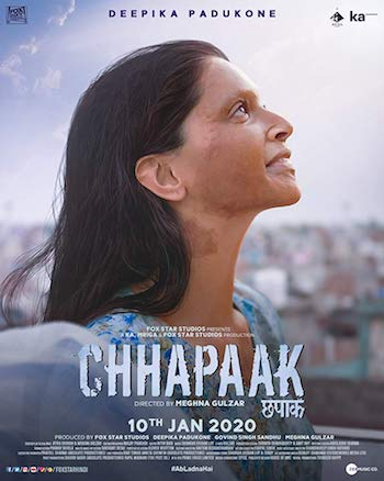 Chhapaak 2020 Hindi 720p 480p pDVDRip