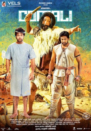 Comali 2019 Hindi Dubbed Full Movie Download