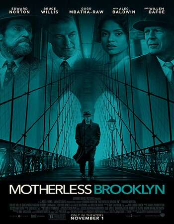 Motherless Brooklyn 2019 English 450MB AMZN Web-DL 480p ESubs
