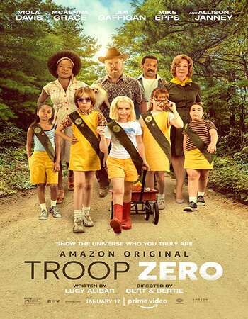Troop Zero 2020 Hindi Dual Audio 550MB Web-DL 720p MSubs HEVC