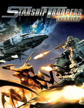 Starship Troopers Invasion 2012 Hindi Dual Audio 720p BluRay ESubs