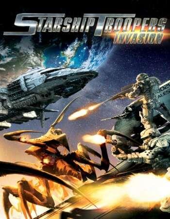 Starship Troopers Invasion 2012 Hindi Dual Audio BRRip Full Movie 720p Download