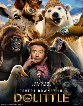 Dolittle 2020 Hindi (Cleaned) Dual Audio 450MB HDRip 720p ESubs HEVC