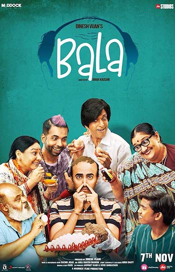 Bala 2019 Hindi 720p WEB-DL 1GB