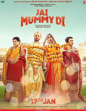 Jai Mummy Di 2020 Hindi 720p 480p Pre-DVDRip x264