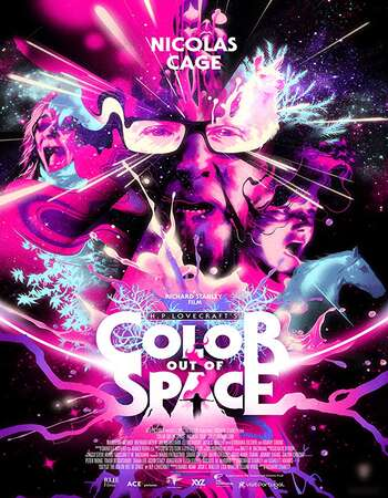 Color Out of Space 2019 English 300MB DVDScr 480p