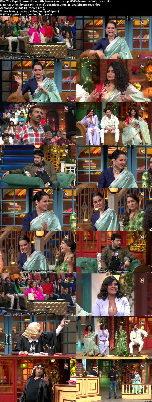 The Kapil Sharma Show 18 January 2020 Episode 108 HDTV 720p 480p