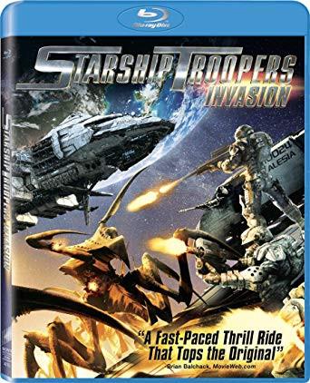 Starship Troopers - Invasion 2012 Dual Audio Hindi Bluray Movie Download