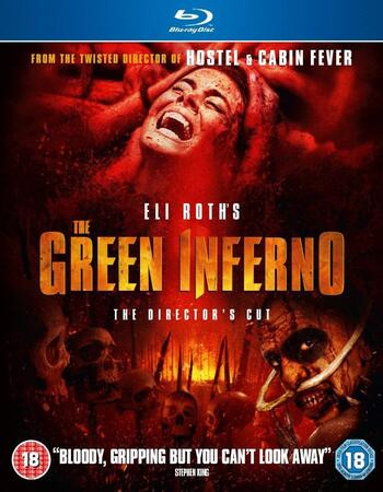 The Green Inferno 2013 Dual Audio Hindi 720p BluRay 850mb