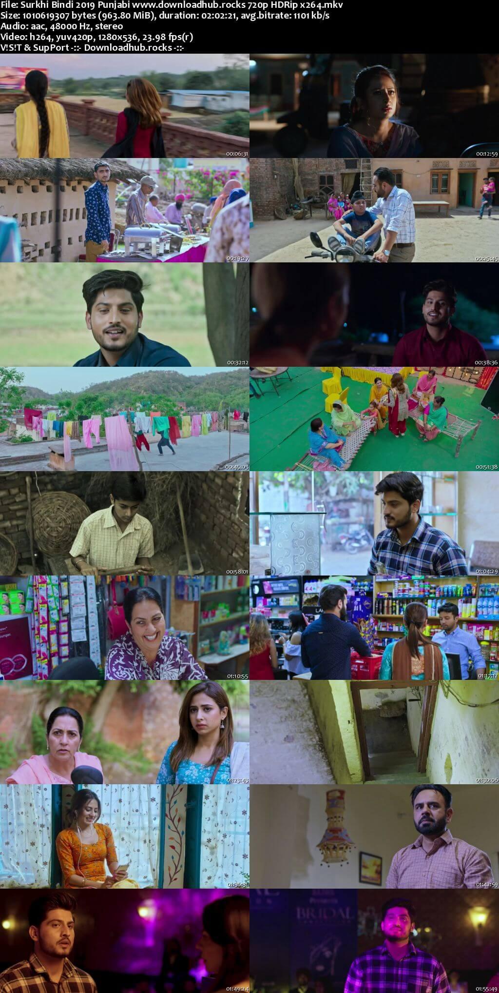 Surkhi Bindi 2019 Punjabi 720p HDRip x264