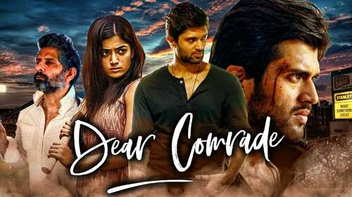 Dear Comrade 2020 Hindi Dubbed 720p HDRip x264