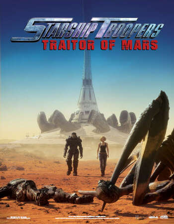 Starship Troopers Traitor of Mars 2017 Hindi Dual Audio 720p BluRay ESubs