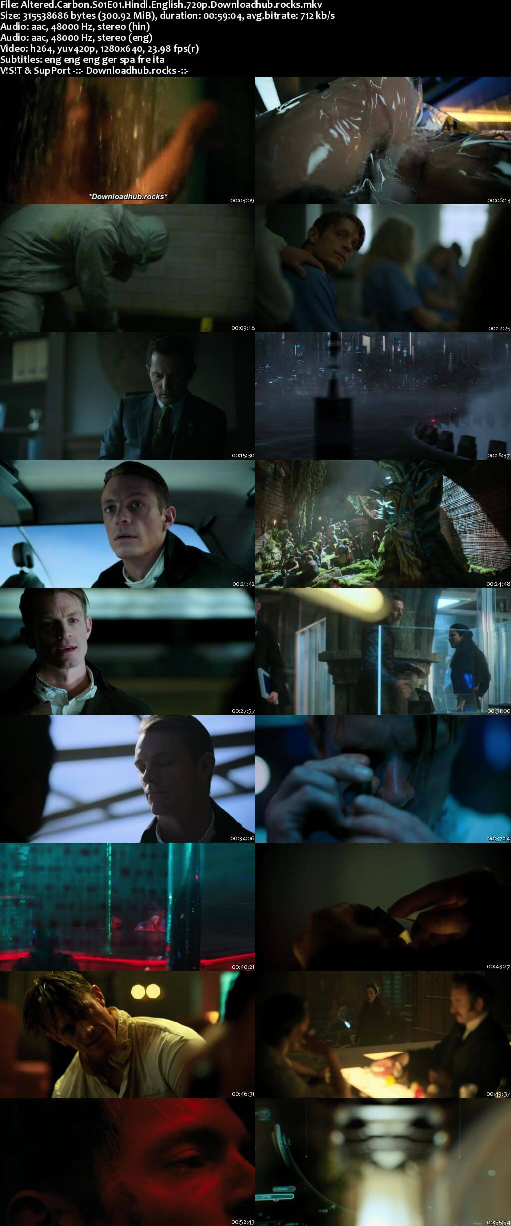 Altered Carbon S01 Complete Hindi Dual Audio 720p Web-DL MSubs