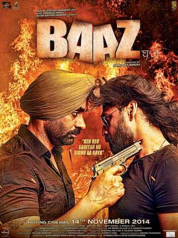 Baaz 2014 Hindi Dubbed 350MB HDRip 480p