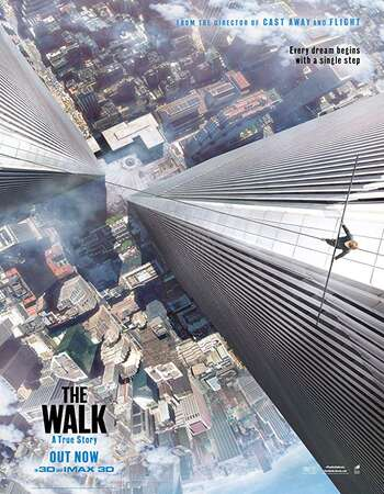 The Walk 2015 Hindi Dual Audio 350MB BluRay 480p ESubs