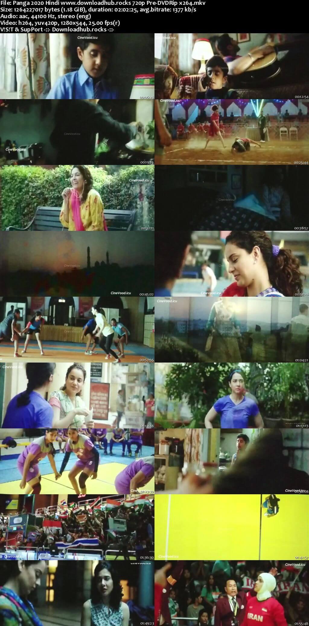 Panga 2020 Hindi 720p 480p Pre-DVDRip x264