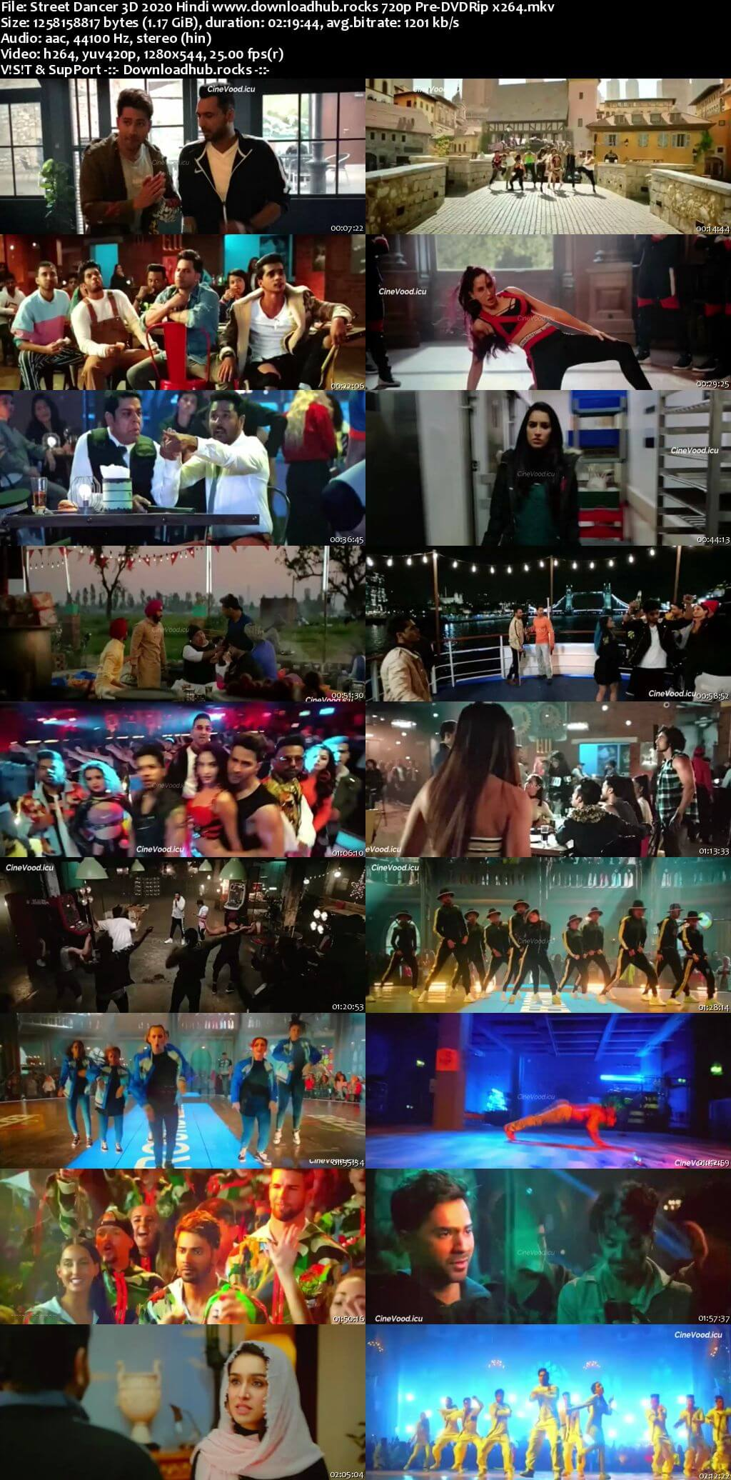 Street Dancer 3D 2020 Hindi 720p 480p Pre-DVDRip x264