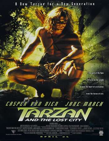 Tarzan and the Lost City 1998 Hindi Dual Audio 280MB Web-DL 480p